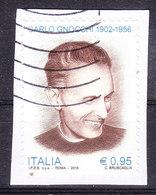 2016 DON CARLO GNOCCHI USATO - 6. 1946-.. Repubblica