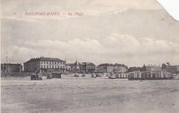 Nieuwpoort, Nieuport Bains, La Plage. HOEK AF, Zie Scan (pk54022) - Nieuwpoort