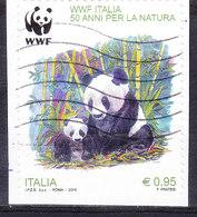 2016 WWF ITALIA USATO - 6. 1946-.. Repubblica