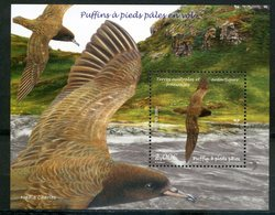 TAAF   2019   Puffin à Pieds Pâles   Birds . - Blocs-feuillets