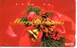 Noël Merry Christmas  Télécarte Japon Phonecard (G 55) - Noel