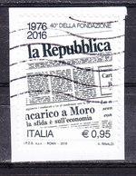 2016 LA REPUBBLICA USATO - 6. 1946-.. Repubblica