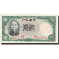 Billet, Chine, 5 Yüan, 1936, 1936, KM:217a, SUP - Chine