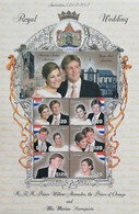 Guyana 2002 Wedding Of Netherlands Prince Willem-Alexander Sheet Of Six - Guyana (1966-...)