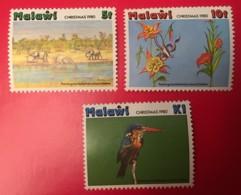 MALAWI - MNH** - 1980 - # 374, 375, 377 - Malawi (1964-...)