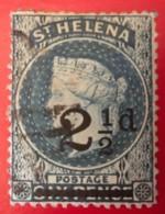 ST. HELENA - (O)  - 1893  - # 47 - Sainte-Hélène