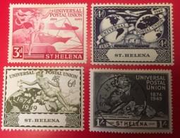 ST. HELENA - MU  - 1949  - # 132/135 - Sainte-Hélène