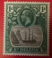 ST. HELENA - MNH**  - 1922-1927  - # 80 - Sainte-Hélène