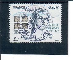 Yt 5036 Sophie Germain Cachet Rond - France