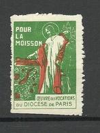FRANKREICH France Pour La Moisson Paris (*) - Erinnophilie