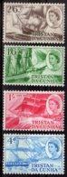 1969 Tristan Da Cunha - Sail Ships Of 19 Centuary - MNH** MiNr. 124 - 127 - Tristan Da Cunha