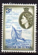 1954 Tristan Da Cunha - Sail Boat - MNH** MiNr. 19 - Tristan Da Cunha