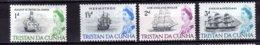 1965 Tristan Da Cunha - Ships And Queen Elisabeth II - MNH** MI 72-75 - Tristan Da Cunha