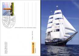 2013 Germany -Kiel Week - Special Card And Postmarks On LIghthouse Flügge / Sail Week In Kiel - Issued Only 1600 Pcs - Leuchttürme