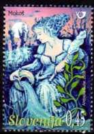 2008 Slovenia -Slowenische Mythen / Fary Tales Of Slovenia -Göttin Mokosch - MNH** Mi 681 - Slovénie