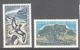 Terres Australes Et Antarctiques Françaises (TAAF) : Yvert N° 28/29* - Französische Süd- Und Antarktisgebiete (TAAF)