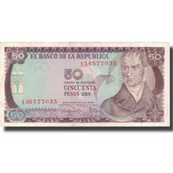 Billet, Colombie, 50 Pesos Oro, 1973, 1973-07-20, KM:414, TTB - Colombie