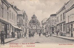 Postkaart - Carte Postale SCHERPENHEUVEL /MONTAIGU Statiestraat - Rue De La Station  (Stevens Mechelen) (C15) - Scherpenheuvel-Zichem