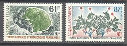 Terres Australes Et Antarctiques Françaises (TAAF) : Yvert N° 52/53**; MNH - Französische Süd- Und Antarktisgebiete (TAAF)