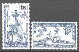 Terres Australes Et Antarctiques Françaises (TAAF) : Yvert N° 79/80**; MNH - Franse Zuidelijke En Antarctische Gebieden (TAAF)