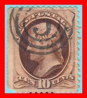 ESTADOS UNIDOS USA UNITED STATES 1870 - 71  JEFFERSON - América Central