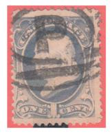 ESTADOS UNIDOS USA UNITED STATES 1870-71 – FRANKLIN ULTRAMARINE - Centraal-Amerika