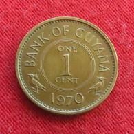 Guyana 1 Cent 1970 KM# 31 *V2 Guiana - Guyana