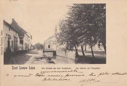Postkaart - Carte Postale ZOUTLEEUW De Gete En Het Gasthuis - La Gete Et L'Hopital Ghijs Antwerpen 1901 (C21) - Zoutleeuw