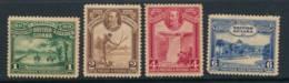 BRITISH GUIANA, 1931 1c, 2c, 4c, 6c Toned Gum Fine Light MM, Cat £10 - Brits-Guiana (...-1966)