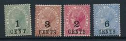 BRITISH HONDURAS, 1891 1c, 2c, 3c, 6c Superb MM, Cat £16 - Brits-Honduras (...-1970)