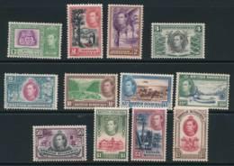 BRITISH HONDURAS, 1938 Set Complete Fine Light MM, Cat £200 - Brits-Honduras (...-1970)