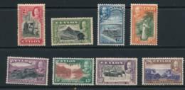 CEYLON, 1935 To 1 Rupee Fine Light MM, Cat £64 - Ceylon (...-1947)