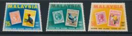 MALAYA, 1967 Stamp Centenary Set Unmounted Mint MNH, Cat £6 - Straits Settlements
