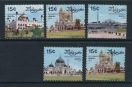 MALAYA, 1975 Mosques Set Unmounted Mint MNH, Cat £6 - Straits Settlements