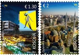 Kosovo Stamps 2017. Cities Of Kosovo - Ferizaj. Set MNH - Kosovo