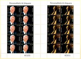 Kosovo Stamps 2017. Distinguished: Scientist, Psychologist. Sheet MNH - Kosovo