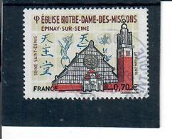 Yt 5038 Epinay Sur Seine ND Des Missions Cachet Rond - France
