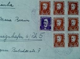 Brésil 1950-1959 Lettres  Documents - Covers & Documents