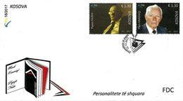 Kosovo Stamps 2017. Distinguished: Scientist, Psychologist. FDC MNH - Kosovo
