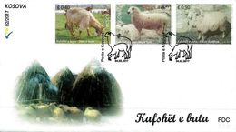 Kosovo Stamps 2017. Domestic Animals, Sheep. FDC MNH - Kosovo