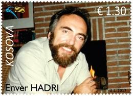 Kosovo Stamps 2017. Enver Hadri. Set MNH - Kosovo