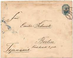 RUSSIA 1901 - ENTIRE ENVELOPE Of 10 KOPECS From St. Petersburg To Berlin, Germany - 1857-1916 Imperium