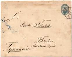 RUSSIA 1901 - ENTIRE ENVELOPE Of 10 KOPECS From St. Petersburg To Berlin, Germany - Briefe U. Dokumente