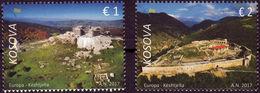 Kosovo Stamps 2017. Europa CEPT, Castles, Fortresses. Set MNH - Kosovo