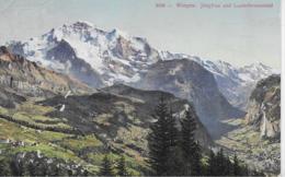 AK 0126  Wengen - Jungfrau Und Lauterbrunnental Um 1909 - BE Bern