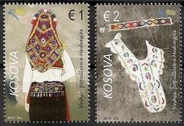 Kosovo Stamps 2017. Folk Costumes Of Medvegja, Etnology. Set MNH - Kosovo