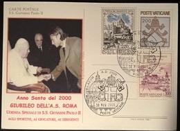 GIUBILEO 2000 TOTTI DAL PAPA - Non Classificati