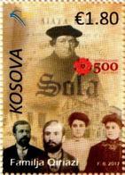 Kosovo Stamps 2017. Martin Luther. 500th Anniversary Of Reformation. Set MNH - Kosovo