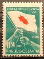 Yugoslavia, 1951, Porto Mi: 6 (MNH) - Nuovi