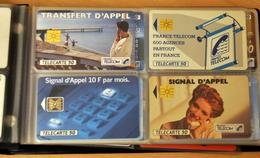 Album Télécartes (Environ 80), Non Triées - Télécartes